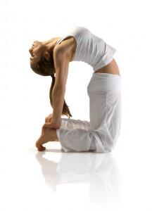 Yoga Class - Camel Pose